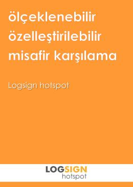 Logsign Hotspot Datasheet