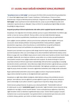 17._ulusal_halk_sağlıgı_kongresı_sonuc_bıldırgesı