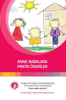Anne Babablara Pratik Öneriler - Turgut Özal Üniversitesi Hastanesi