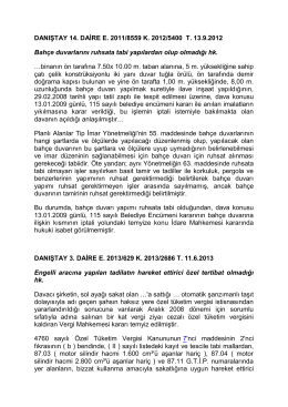 idari işlemin unsurları (5.11.2014) - İstanbul Üniversitesi | Hukuk