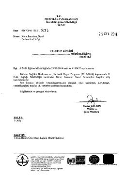 25 nı 201( - mersin - mezitli ilçe millî eğitim müdürlüğü