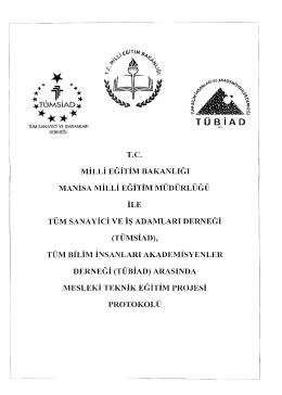 Protokol için tıklayınız - Alaşehir İlçe Milli Eğitim Müdürlüğü