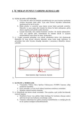 iç mekan funfly yarışma kuralları