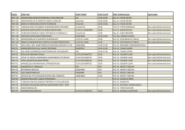 2014-2015 Ders Yılı Güz Dönemi Ders Programı
