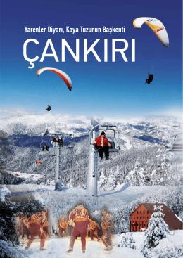 Çankırı Özel Dosya - Türk İdareciler Derneği