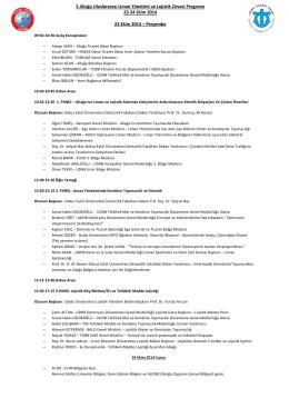 2.Aliağa Uluslararası Liman Yönetimi ve Lojistik
