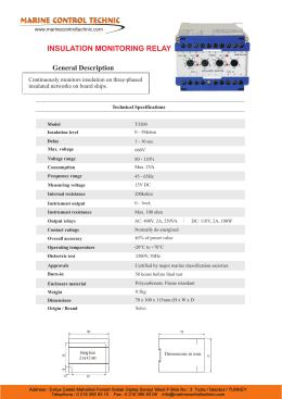 t3200 ınsulatıon monıtorıng relay en