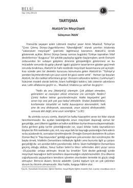 tartışma - Pamukkale Üniversitesi
