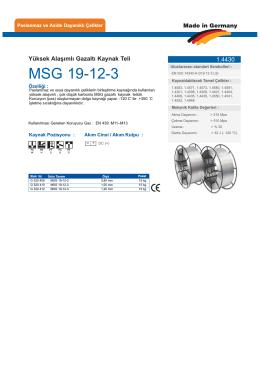 MSG 19-12-3 - teknolit.com.tr