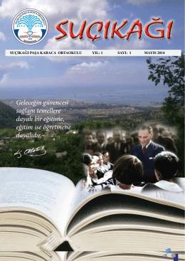 dergi - Tepebaşı İlçe Milli Eğitim Müdürlüğü