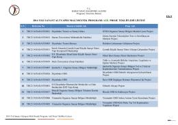 ek-9 2014 yılı sanayi altyapısı mali destek programı asil proje