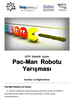Pac-Man Robotu Yarışması
