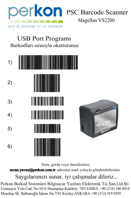 PSC Barcode Scanner