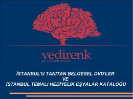 İstanbul Temalı Ürünler