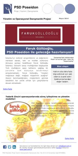 PSD Poseidon - Daha fazla