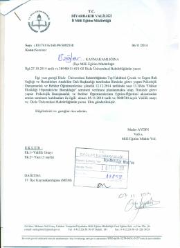 BL. - bağlar ilçe millî eğitim müdürlüğü