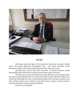 Ümit ŞEN - Çevre ve Şehircilik Bakanlığı