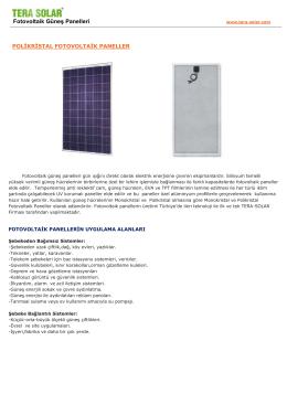 modüller kataloğu - SANEL Solar Allianz