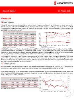 17 Aralık 2014 tarihli piyasa yorumu
