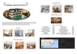 Amiral Palace Hotel | ISTANBUL
