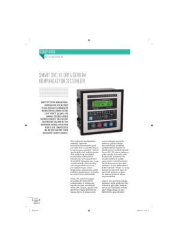 smart svc ve orta gerilim kompanzasyon sistemleri