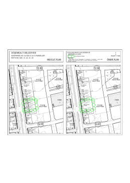 döşemealtı belediyesi mevcut plan öneri plan