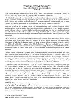 """Sosyal Güvenlik Kurumu (SGK) ile Türk Eczacılar Birliği, """"Sosyal"""