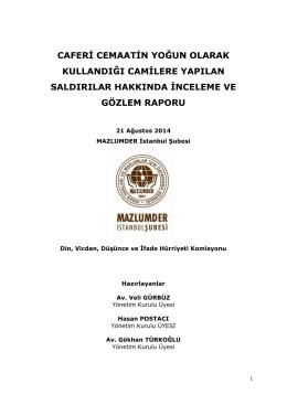 Raporu PDF Olarak İndirmek İçin Tıklayın - İstanbul