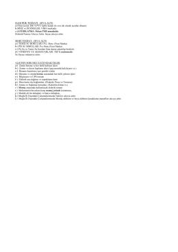 Şantiye Teknik Özellikler 2