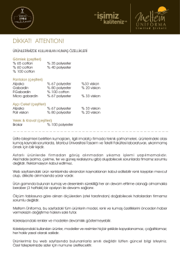 DİKKAT! ATTENTION!