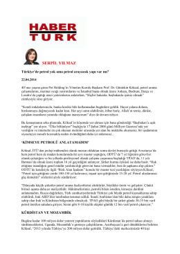SERPİL YILMAZ - Pet Holding