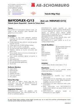 BAYCOFLEX-CJ13 - ab