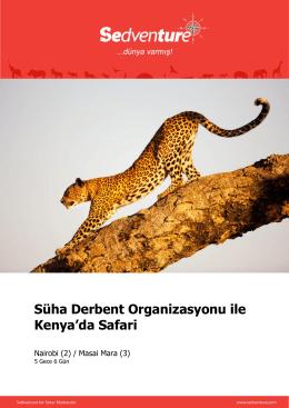 Masai Mara - SEDVENTURE