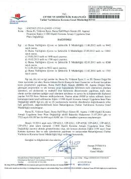 ııııı - Çevre ve Şehircilik Bakanlığı