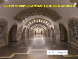 Nizami Metrosu tasvirleri