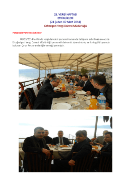 ORHANGAZİ VERGİ - Bursa Vergi Dairesi Başkanlığı