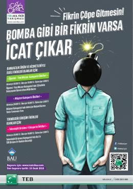 bomba gibi bir fikrin varsa - Boğaziçi Üniversitesi Kariyer Geliştirme
