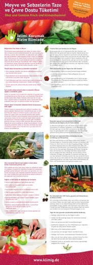 Meyve ve Sebzelerin Taze ve Çevre Dostu Tüketimi Obst und