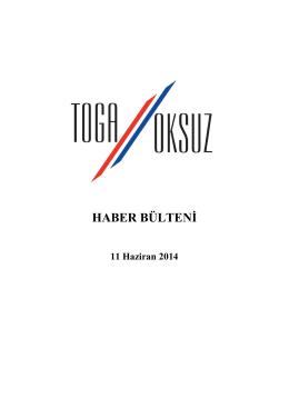 Hukuk Bülteni 11.06.2014