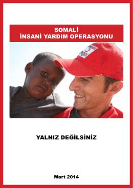 somali insani yardım operasyonu yalnız değilsiniz