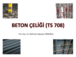 Beton Çeliği (TS 708)