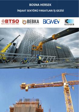 Ek:BTSO - Bosna Hersek Inşaat Sektörü İş Gezisi Programı