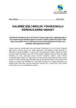 Neden Psikoloji Günleri - İstanbul Şişli Meslek Yüksekokulu