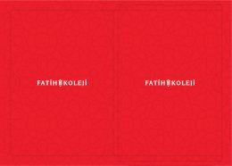 Sayın - Fatih Koleji Grafik Tasarım Grubu