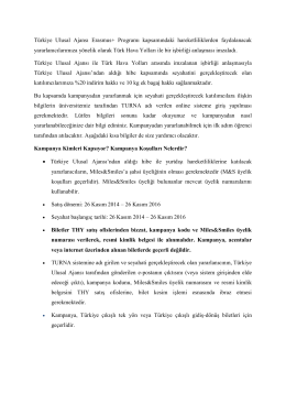 Türkiye Ulusal Ajansı Erasmus+ Programı kapsamındaki