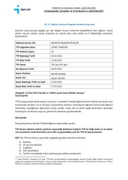 türkiye iş kurumu genel müdürlüğü gümüşhane çalışma ve iş