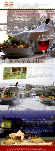 Sidonya Hotel E-bulten