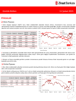 11 Şubat 2015 tarihli piyasa yorumu