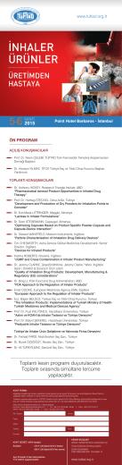 Kayıt Formu  - türk farmasötik teknoloji araştırmacıları derneği