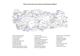 Culture and Tourism Conservation and Development Regions